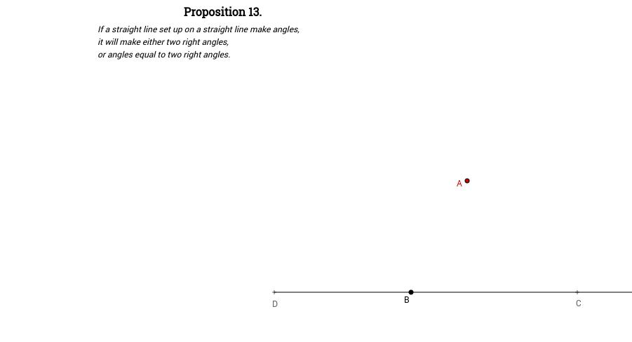 Elements I: Proposition 13