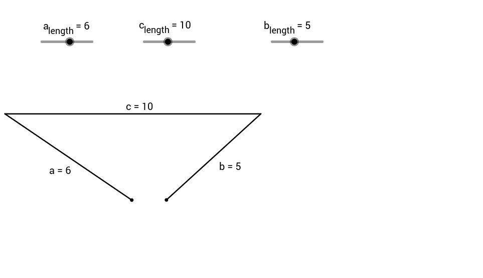 Triangle Side Inequality