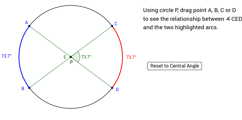 Copy of Angles Inside a Circle