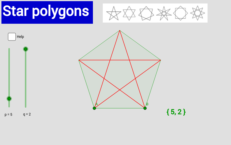 Star polygons