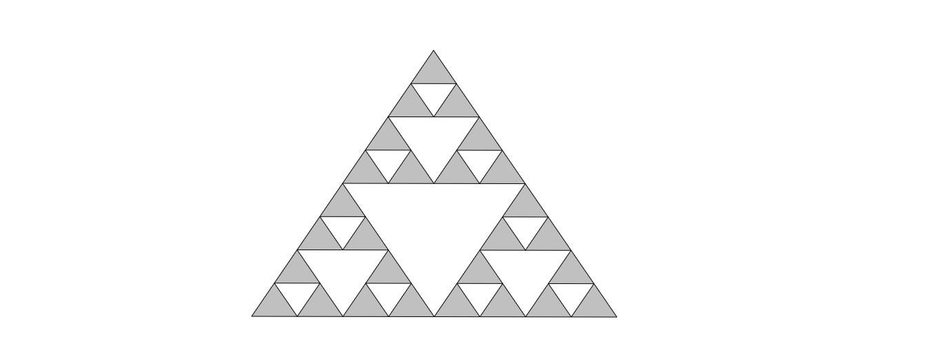 Sierpinski Dreieck
