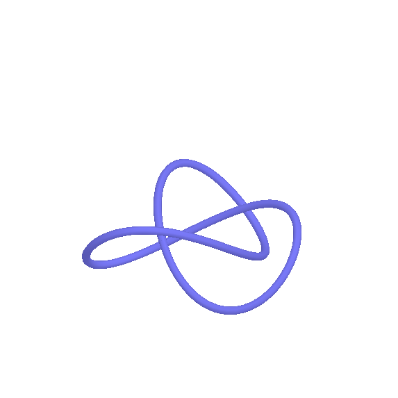 Un nodo trifoglio parametrico - A parametric trefoil knot