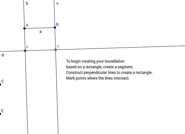 Creating a Tessellation from a Rectangle - Step 1