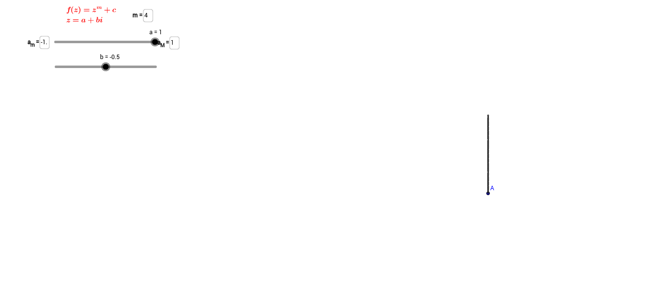 Fractalen - variatie op Mandelbrot