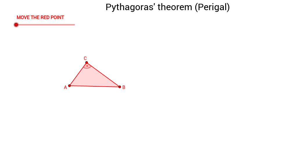 Proof of Pythagoras' theorem (Henry Perigal)
