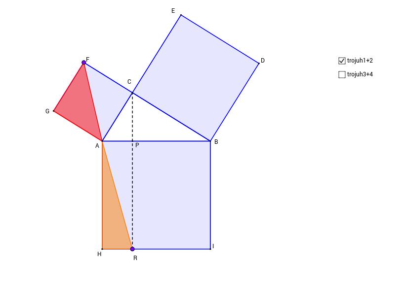 Důkaz Pythagorovy věty 3