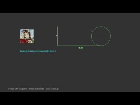 μήκος κύκλου και το π (β'γυμν.)