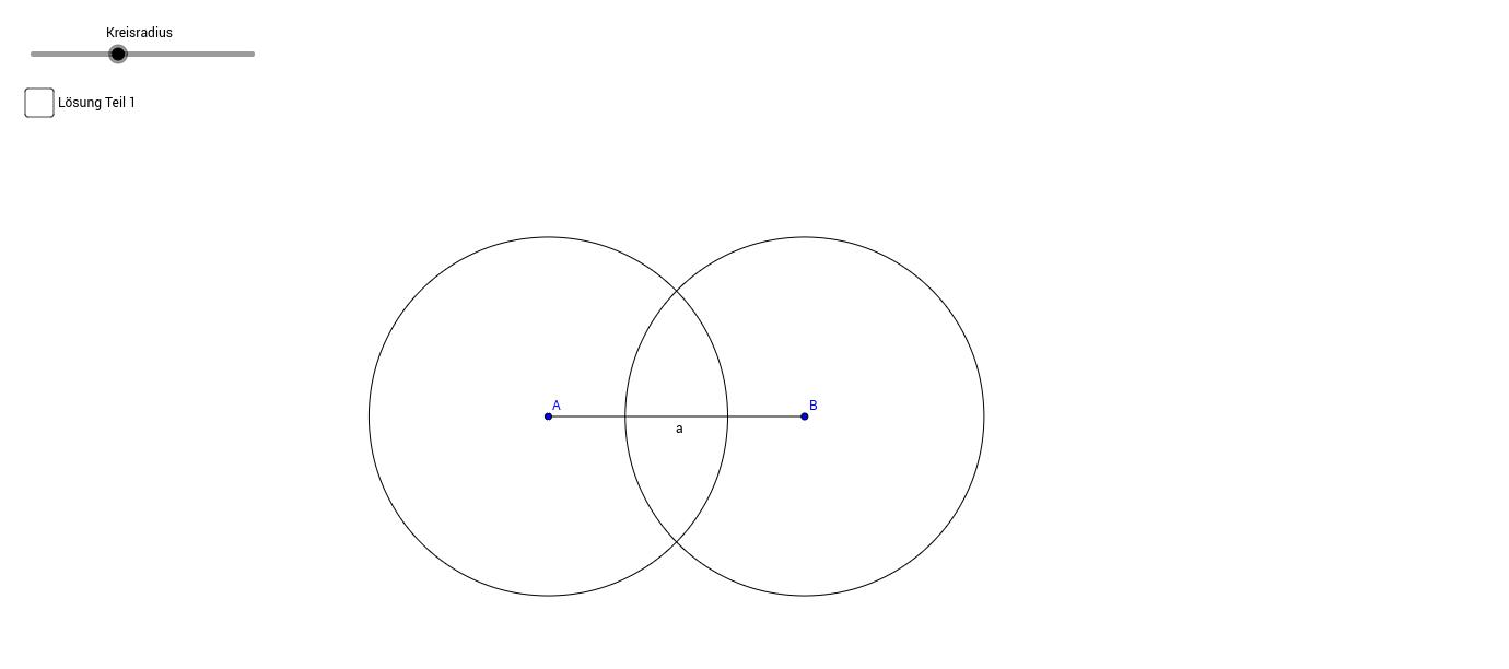 Mittelsenkrechte bzw. Streckensymmetrale