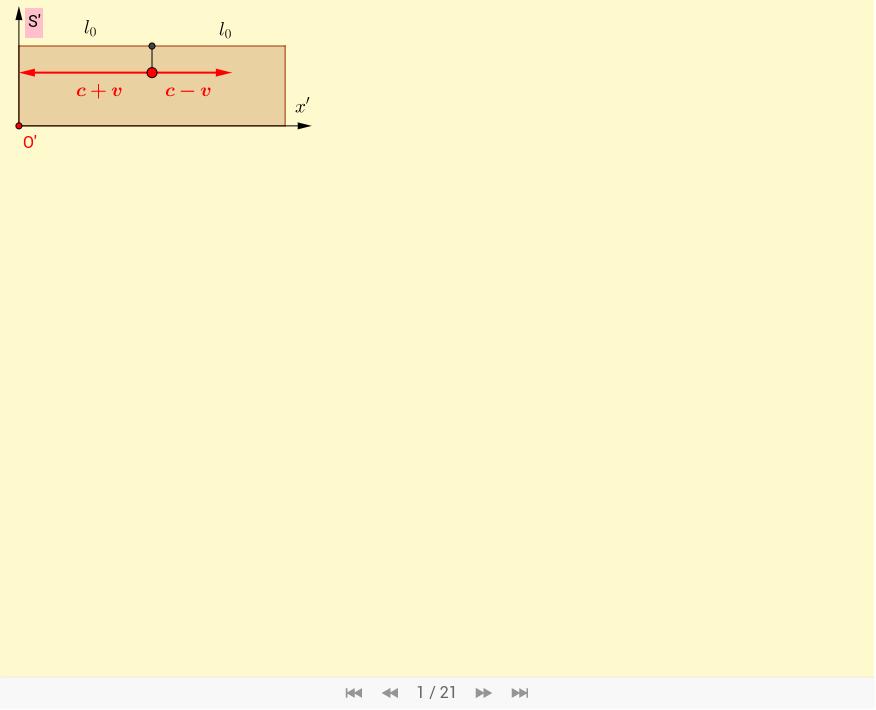 3) Výpočty pomocí Galileovy transformace