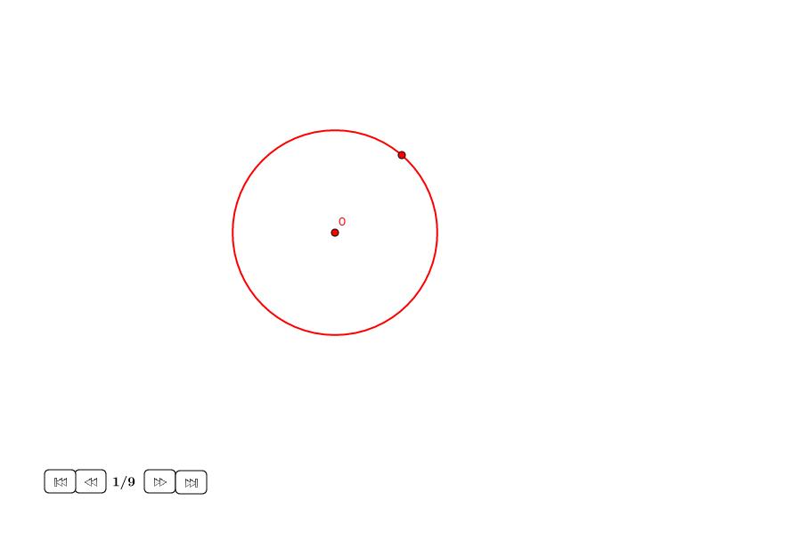 Cuadrado en un círculo