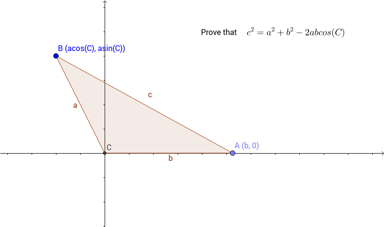 Law of Cosines Activity GeoGebra – Law of Cosine Worksheet