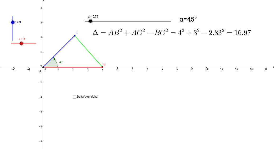 Calcul du produit scalaire
