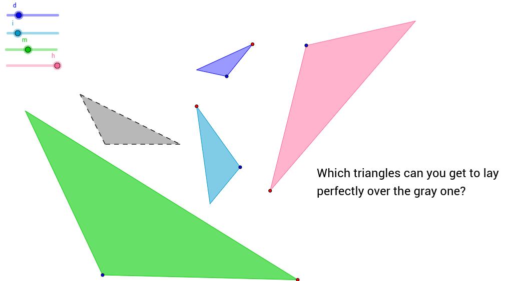 Similarity by Dilation & Rotation