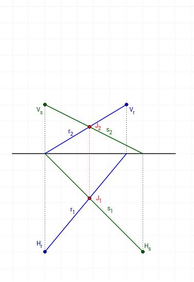Copia de Diédrico 2D/3D. Intersecciones. Rectas.