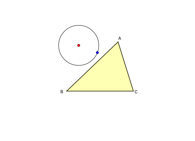Umkreis eines Dreiecks ... die weiche Konstruktion