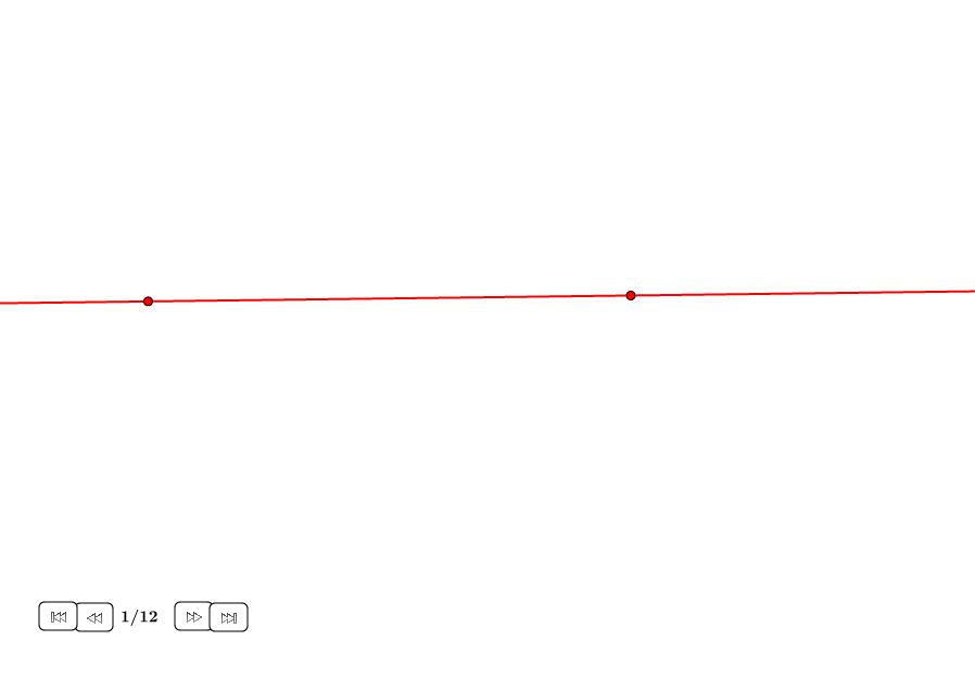Cuadrado ortogonalmente construido sobre recta (I)