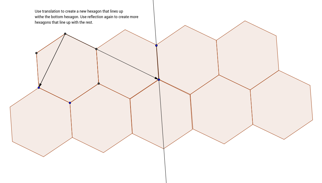 Creating a Reflection Tessellation Part 4