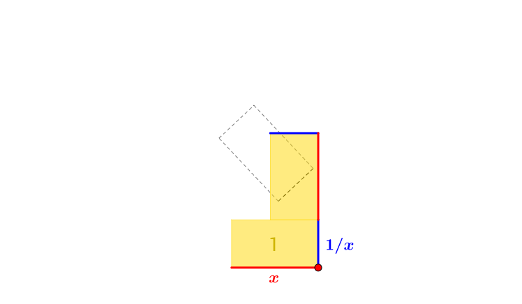 The sum of a number and its reciprocal