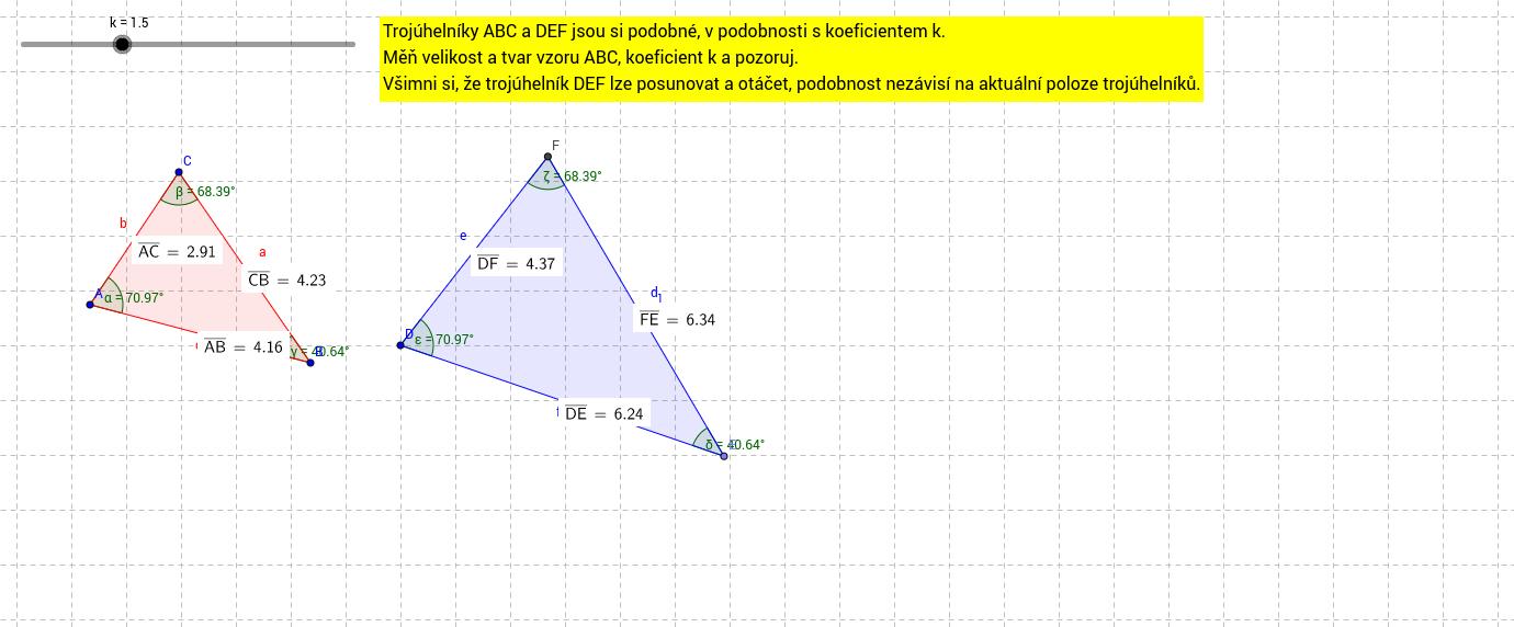 Podobné trojúhelníky