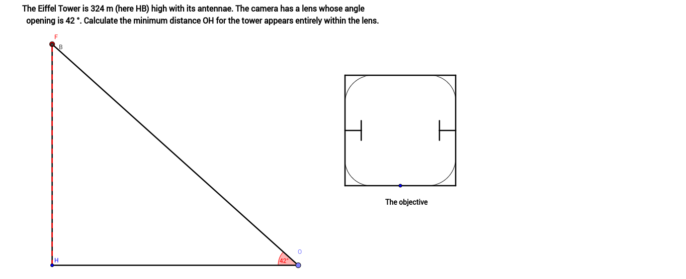 Trigonometry- Finding A side Lenght in A Right Triangle