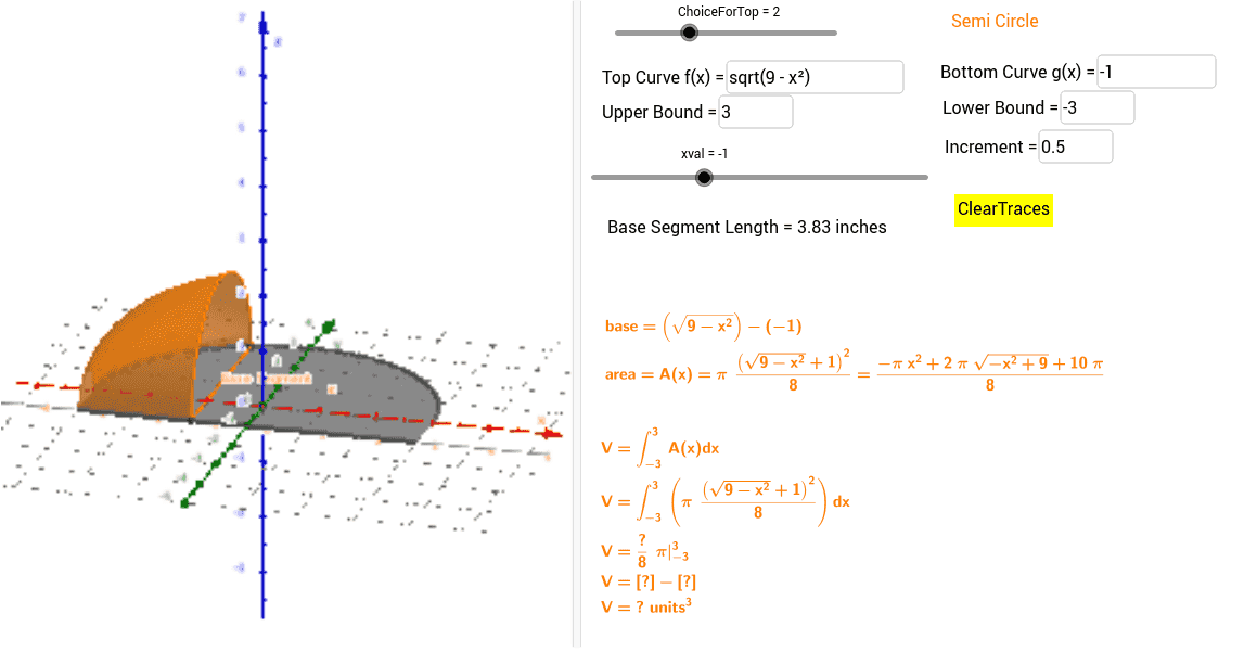 how to draw solids in geogebra