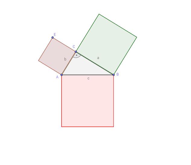 Satz von Pythagoras - Beweis von Euklid