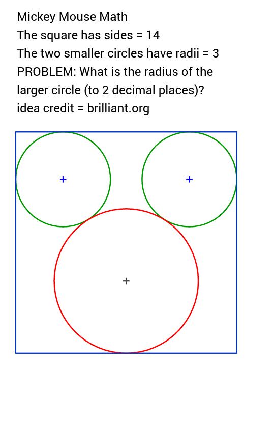 Mickey Mouse Math