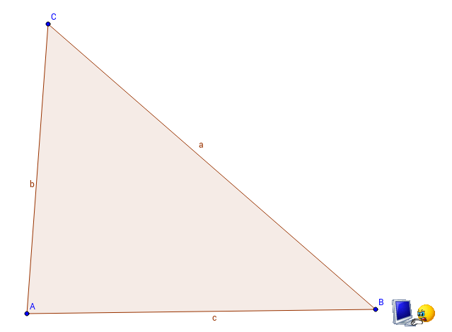 Centroid of a triangle. Construction with GG Tools.