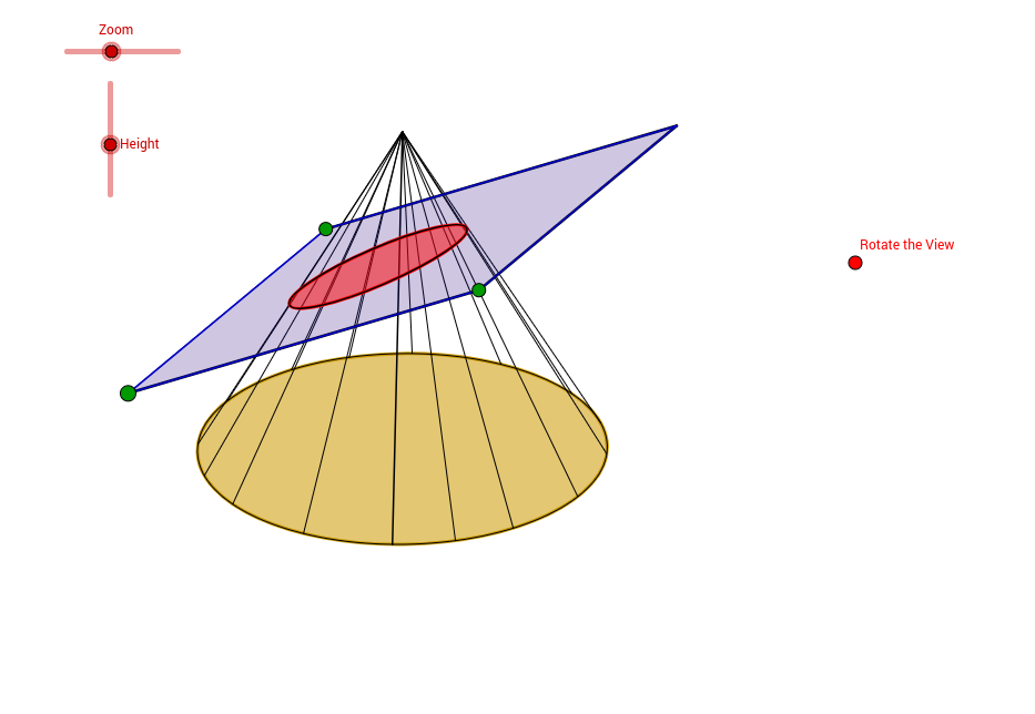 intersecting planes cube. information: a plane intersecting cone. intersecting planes cube t