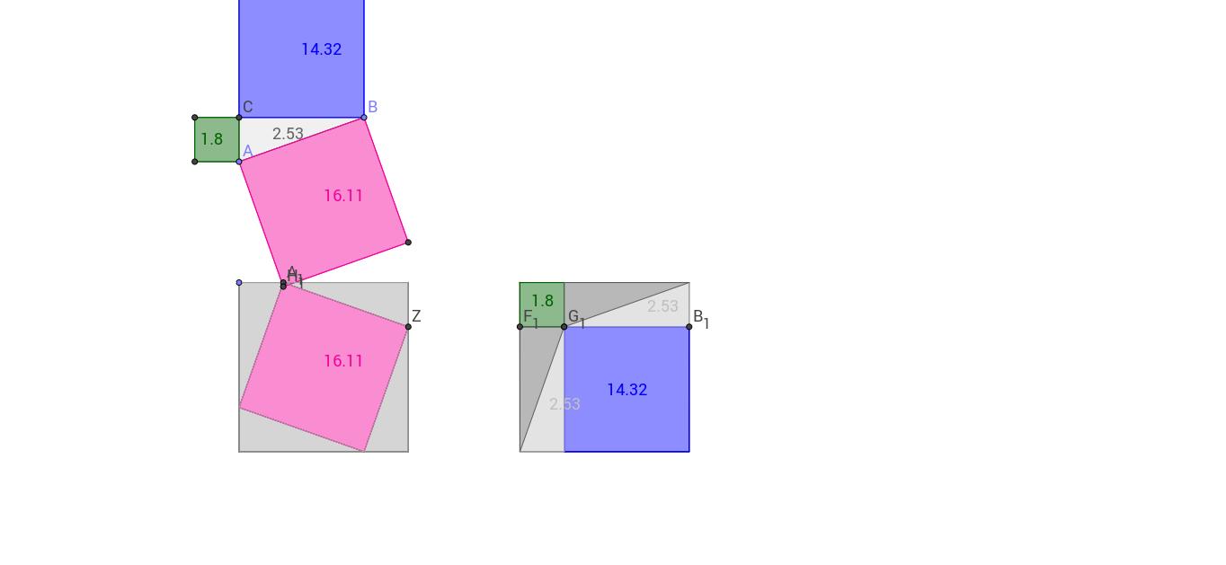 důkaz pythagorova věta