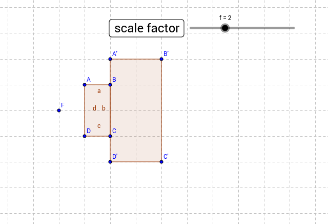 Scale Drawing 7G1 GeoGebra – Scale Drawings Worksheet