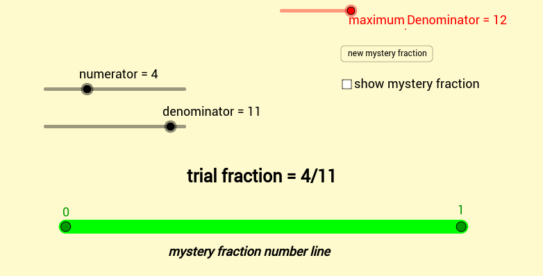number sense & computational calisthenics