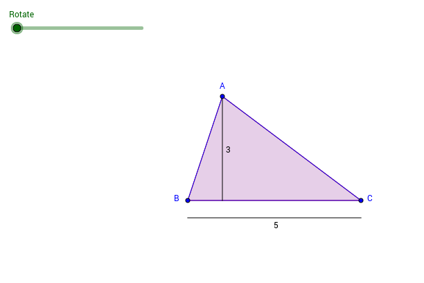Triangle Area Demonstration