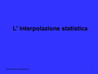 La regressione lineare