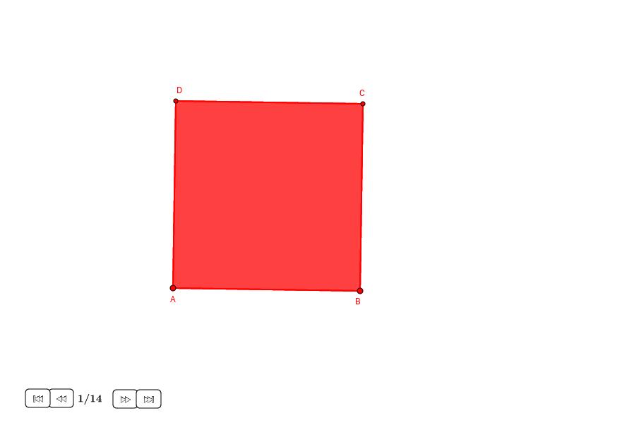 Dodecágono regular en un cuadrado