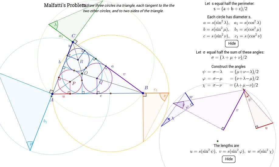 30b. Malfatti's Problem, Solution