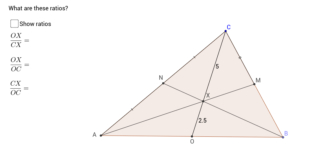 Locating the Centroid of a Triangle