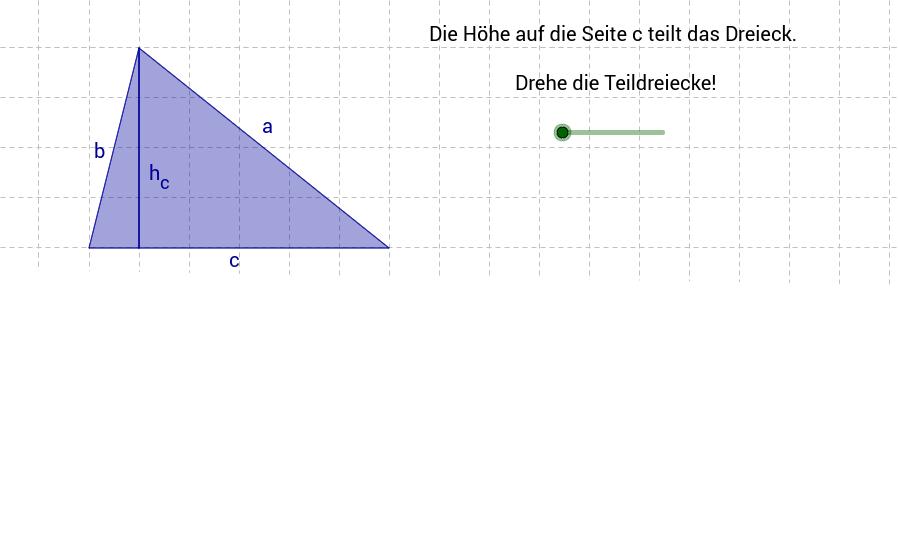 Flächeninhalt des Dreiecks 1