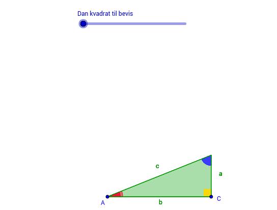 Bevis for Pythagoras' sætning