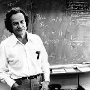 Feynmanův trojúhelník