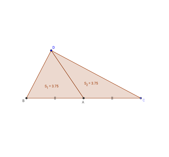 Triangle and midpoint