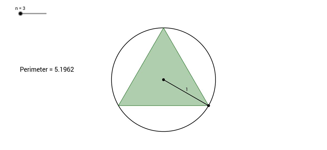 Inscribed Regular Polygon GeoGebra – Regular Polygons Worksheet