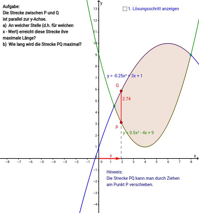 QuadFu - Extremwertaufgabe 3