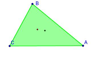 Incentro de un tetraedro