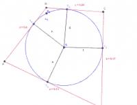 Dotyčnicový štvoruholník