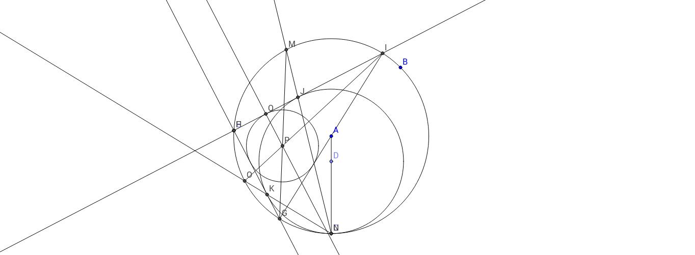 mixtilinear circle