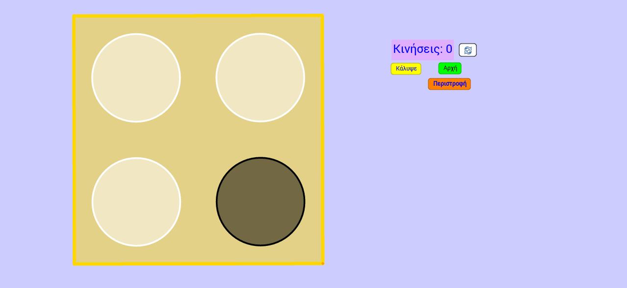 Ολοι οι κύκλοι ίδιο χρώμα