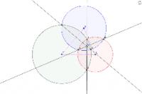 三円交線の交点