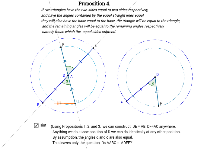 Elements I: Proposition 4