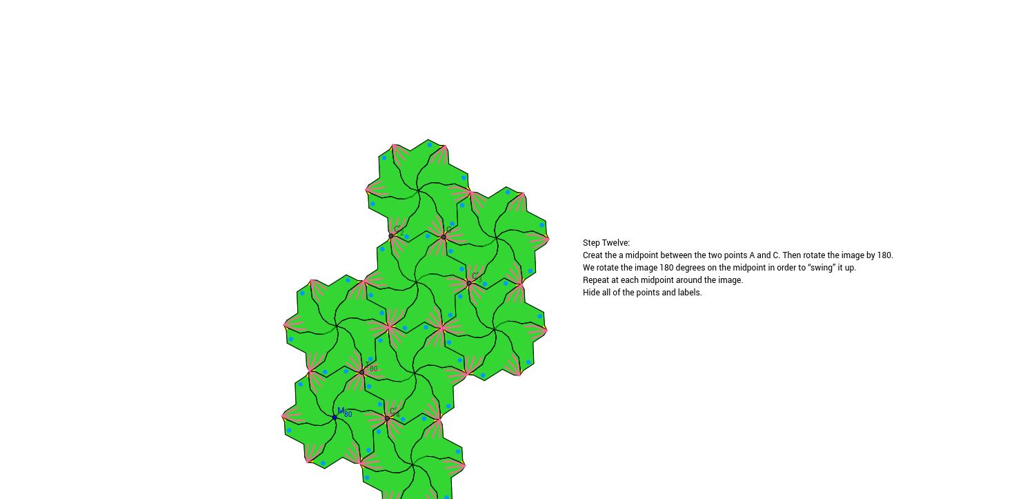 Rotation Tessellation Step 12